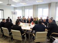 Вице-губернатор Санкт-Петербурга Сергей Мовчан провел выездное совещание по развитию индустриальной инфраструктуры промышленного кластера «Автопром Северо-Запад»